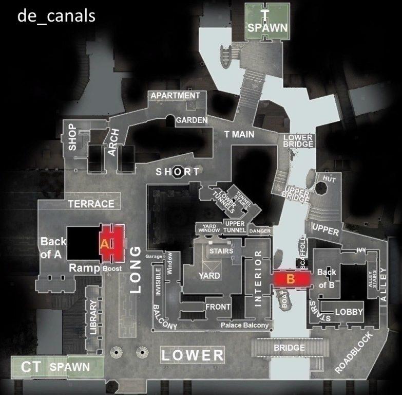 позиций на карте De Canals
